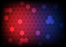 Abstract background.  Pattern hexagon and circle shapes design. Vector illustrator