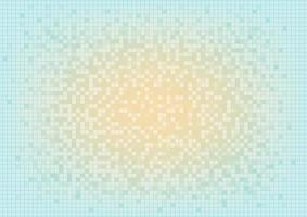 Abstract pixel background. Circuit board interface. Digital media business. Geometric shapes of data vector