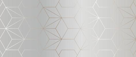 Luxury abstract Banner background vector. Modern geometric shapes an d gold line art wallpaper design for website, prints, cover, backdrop, Wall art and wall decoration. vector