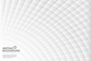 Fondo de perspectiva de tecnología cuadrado gris abstracto. diseño moderno de tecnología geométrica. que puede utilizar para anuncios, carteles, ilustraciones, diseño de plantillas. ilustración vectorial vector