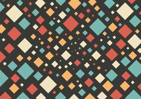 Fondo de patrón geométrico cuadrado colorido pastel abstracto. concepto retro y clásico. que puede utilizar para la plantilla de folleto de portada, cartel, banner web, volante, anuncio impreso, etc.ilustración vectorial vector