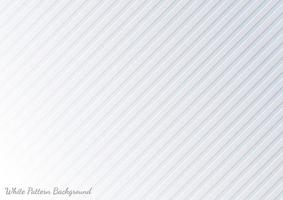 Abstract diagonal lines light silver background vector. Modern white and gray background. vector