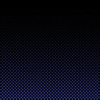 Abstract blue halftone on black background and texture. vector