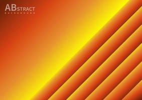 Abstract yellow gradient geometric overlaping background with copy space for text. vector