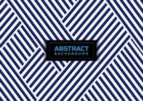 Abstract blue striped line pattern on white background and texture. vector