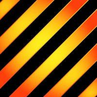 Abstract stripes geometric diagonal lines yellow gradient color with lighting on black background. vector