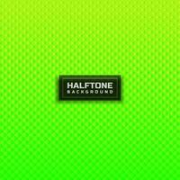 Abstract halftone green gradient square pattern background. vector