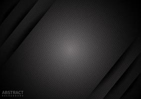Abstract black paper background diagonal overlapping layer with shadow. Modern style. You can use for template brochure design. poster, banner web, flyer, etc. vector