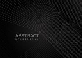Abstract modern black lines overlap background with space for your text. vector