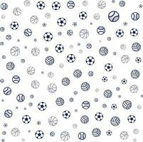 Sport pattern background for sport brochure cover design. vector banner poster template