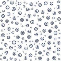 Baseball pattern background for business brochure cover design. vector banner poster template