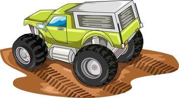 big truck illustration vector