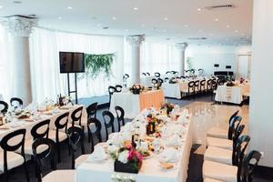 Banquet hall for weddings, banquet hall decoration photo