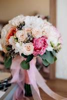 wedding bouquet of flowers photo