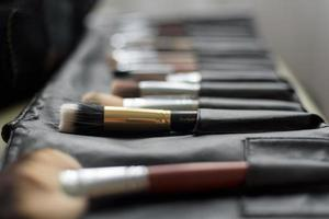 brushes makeup artist photo