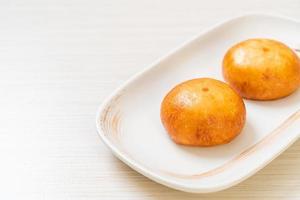 bollos de lava chinos fritos foto