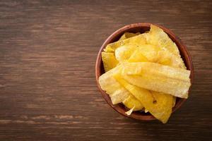 Banana Chips - fried or baked sliced banana photo