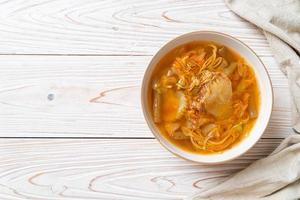 Mixed Vegetable Sour Soup photo