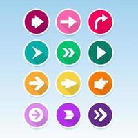 Arrow Icon Collection vector