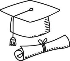 Vector design, toga icon design as graduation