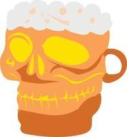 Beer or liquor vector design, alcoholic drink