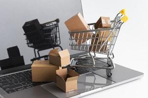ventas de compras de cyber monday foto