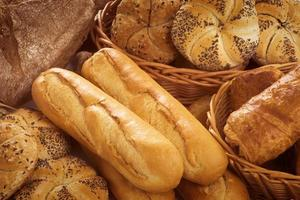 Fresh bread and pastry photo