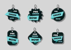 Set of sale banner or label design element collection vector