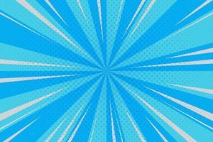 cyan, blue rays background pop art retro vector illustration kitsch drawing