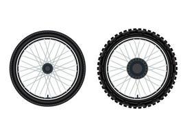 ilustración vectorial de neumáticos vector