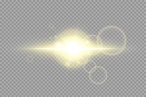 Shining golden stars isolated vector