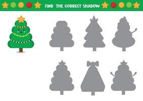 Set of christmas trees vector