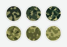 Camouflage pixel icon vector