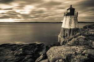 oldcastle lighthouse in newport rhode island photo