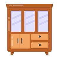 Show case Cupboard vector