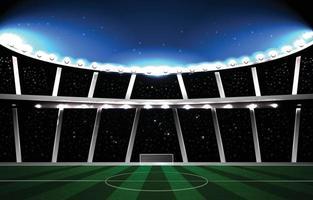 Sport Stadium Background Concept vector