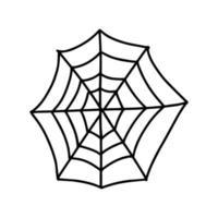 spider web. vector illustration