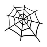 spider Web. design for Halloween vector