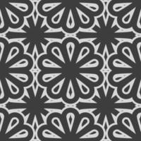Pattern abstract seamless vector illustration style design
