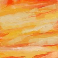 Orange Thick Paint Texture vector