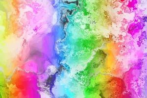 Rainbow Rock Gem Stone vector