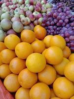 healthy tasty multiple fruit stock photo