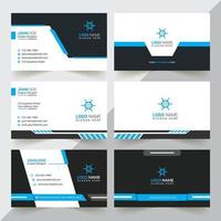 Modern And Professional Business Card Design, Corporate And Creative Business Card Design, Simple And Abstract Business Card, Business Card Design Template vector