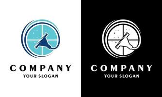 Ilustration vector graphic of  Inspiration logo, Windows logo, Windows cleaner logo or cleaning application logo.