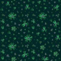 Floral seamless pattern. Flower background. Flourish garden texture with flowers bluebells. vector