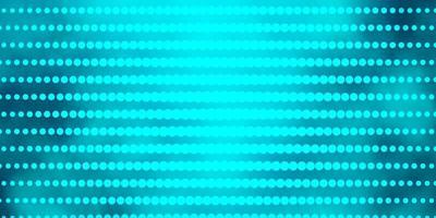 patrón de vector verde claro con círculos.