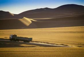 Desierto de Tassili n'ajjer, parque nacional, Argelia - África foto