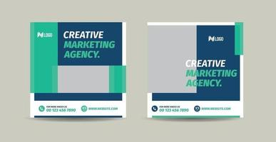 Business Social Media Post Design or Website Product Banner Design or Web Advert Design vector