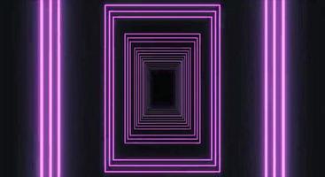 líneas de neón azul rosa, foto