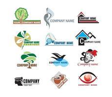 Miscellaneous logo set vector